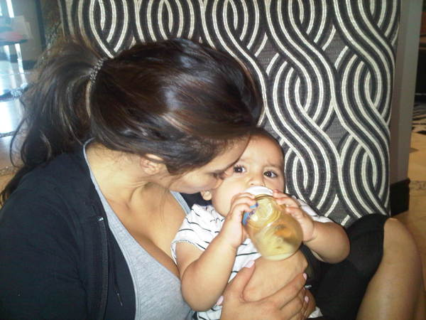 Auntie Kim Kardashian With Her Nephew Mason [PHOTO]