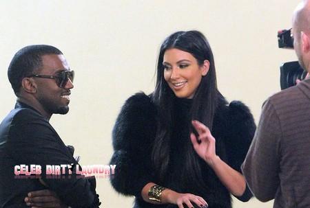 Both Kim Kardashian And Kanye West Make Asses Of Themselves