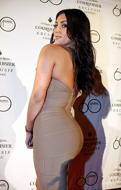 Kim Kardashian Wins 'World's Best Bum Of 2010'