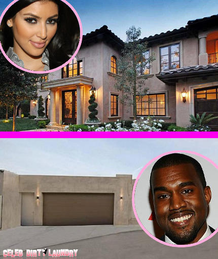 Kim Kardashian And Kanye West BOTH Selling Homes -- Moving In Together?