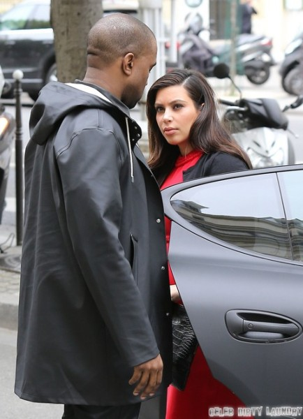 Kim Kardashian And Kanye West Fight In Paris And Kim Kardashian Leaves! (Photos) 0501