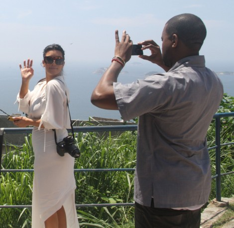 Kim Kardashian, Kanye West Babysit Will Smith During Another Cheating Scandal 0211