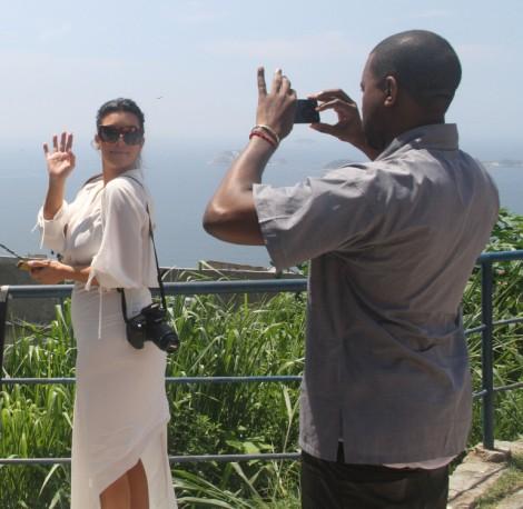 Kim Kardashian, Kanye West Babysit Will Smith During Another Cheating Scandal 0211