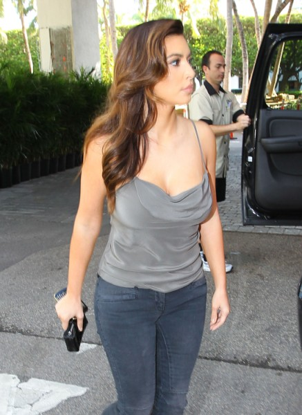 Is Kim Kardashian Jealous Of Khloe Kardashian's Nipple Attention? (Photos) 1102