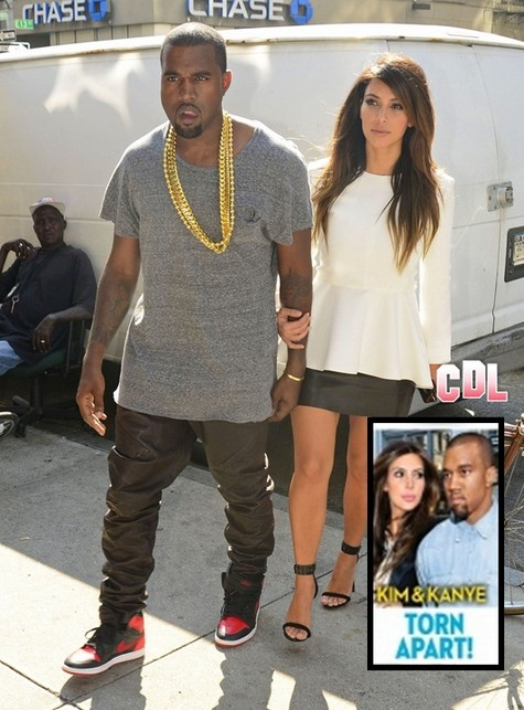 Kim Kardashian and Kanye West Breaking Off? What Will Kris Jenner Do!