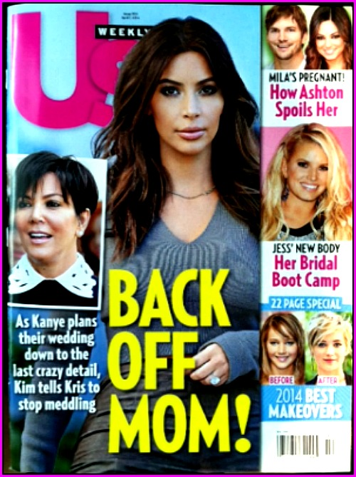 Kim Kardashian Fighting With Kris Jenner Over Wedding Plans - Kanye West to Blame? (PHOTO)