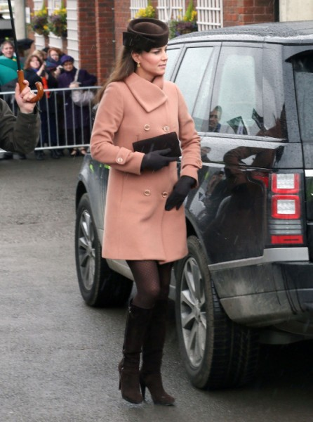 Kate Middleton Due Date Being Questioned - Is She Lying Like Kim Kardashian? 0423