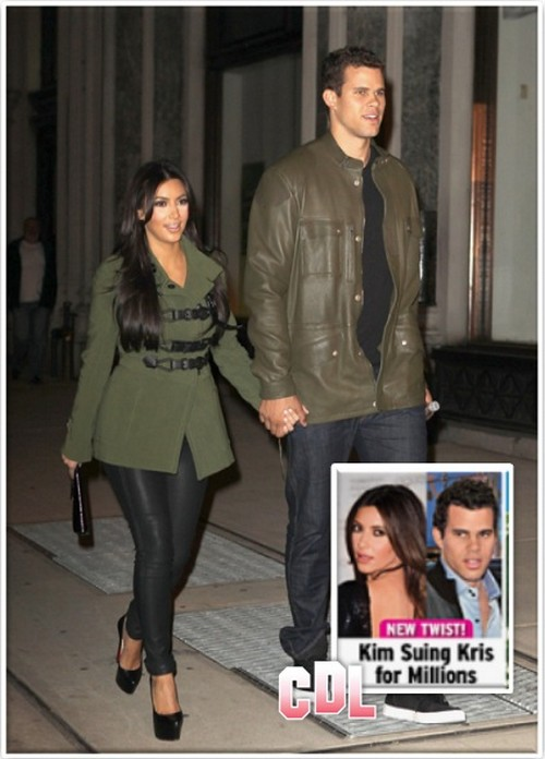 Will Kim Kardashian Sue Kris Humphries For Dragging Out Their Divorce? 1128