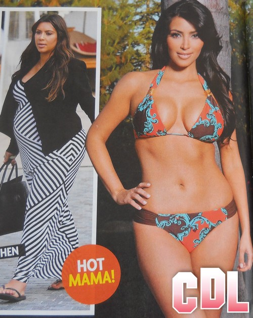 PHOTOS of Kim Kardashian Post Baby Candid Bikini Weight Loss - First Pictures!