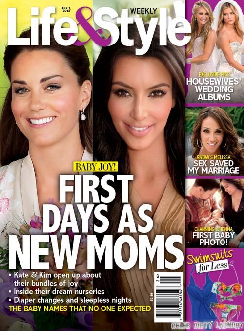 Kate Middleton's and Kim Kardashian's Radically Different Approaches To Motherhood (PHOTO)