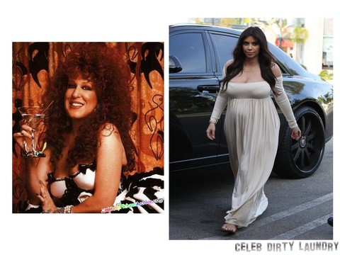 Kim Kardashian In Serious Fashion Trouble: Gets Advice From Bette Midler! (PHOTOS)