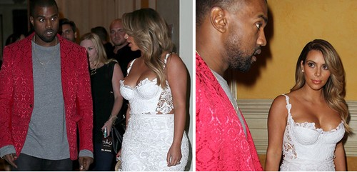 Kim Kardashian and Kanye West Caught Fighting in Public Already! (PHOTO)