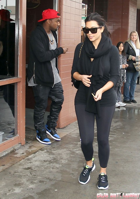 "Pregnant Kim Kardashian and Kanye West Split Near – Rapper Ready To Dump His ""Perfect Bitch"""