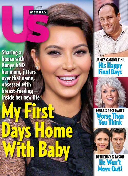 Kim Kardashian Keeps Us Weekly On Speed Dial When She's Not Being Filmed For Reality Shows