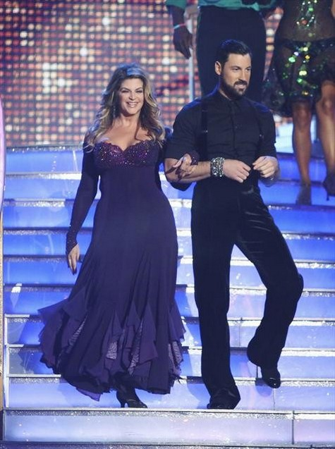 Kirstie Alley Dancing With the Stars All-Stars Jive Performance Video 10/01/12