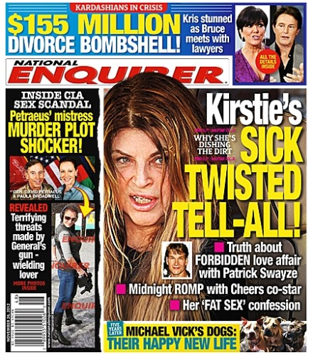 Kirstie Alley's Book Slammed For Being Sick And Twisted! 1114