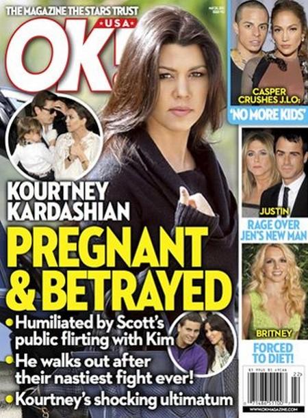 Kourtney Kardashian Betrayed By Sister Kim Kardashian Flirting With Scott Disick (Photo)