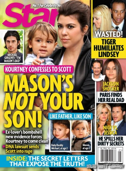 Kourtney Kardashian Admits Scott Disick NOT Mason's Baby Daddy!
