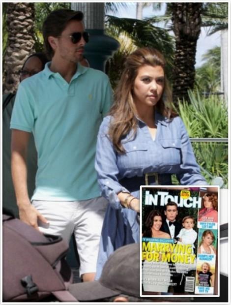 Kourtney Kardashian and Scott Disick Are Marrying For Money & TV Ratings
