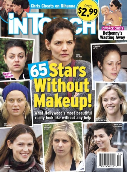 Kourtney Kardashian and Mila Kunis: Their Shocking Appearance Without Makeup (Photo)