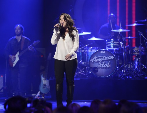 "Kree Harrison American Idol ""Help Me Make it Through The Night"" Video 4/10/13"
