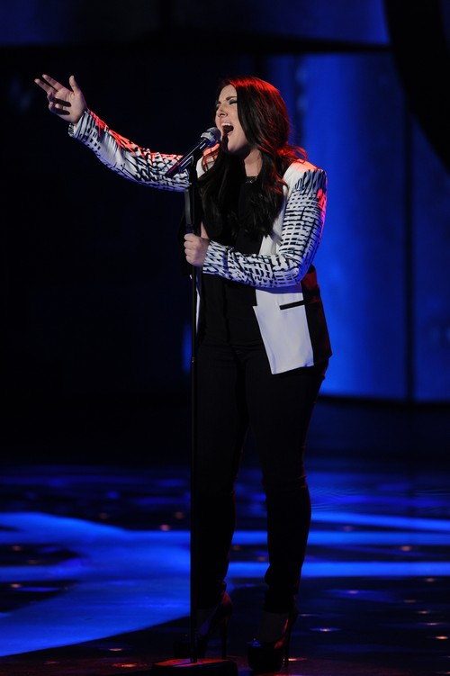 "Kree Harrison American Idol ""With A Little Help From My Friends"" Video 3/20/13"