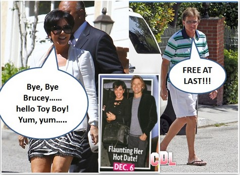 Cougar Kris Jenner On The Prowl: Divorce With Bruce Jenner Imminent (Photo)