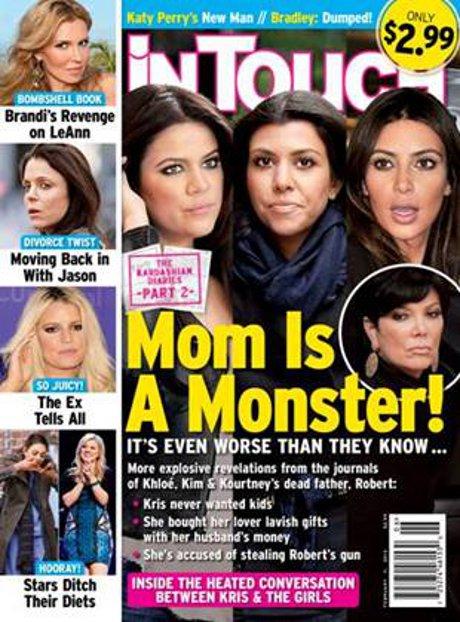 Kris Jenner Revealed as a Vicious, Abusive Monster in Robert Kardashian's Secret Diaries!