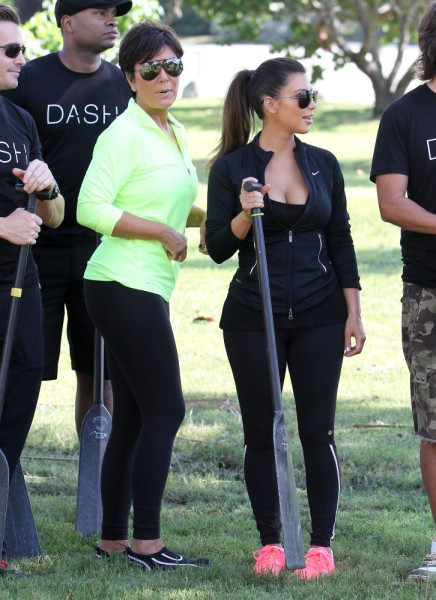 Kris Jenner Reacts To Kim Kardashian's Pregnancy, Then Orders Her Back To Work 1231