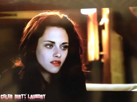 Check Out Bella As A Vampire In Breaking Dawn 2!! (Video)