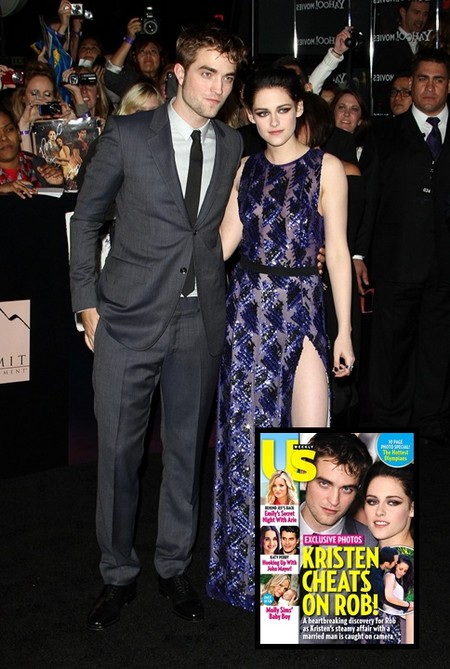Kristen Stewart And Rupert Sanders Caught Cheating On Robert Pattinson (Photo)