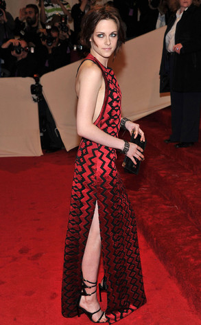 Kristen Stewart Dazzles At Met Ball