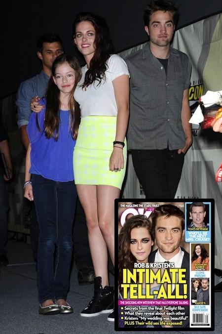 Robert Pattinson and Kristen Stewart's ShockingTell-All