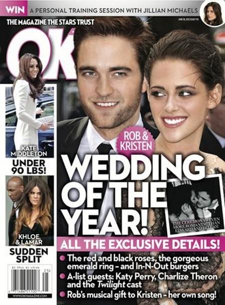 All The Details On Kristen Stewart and Robert Pattinson's Wedding