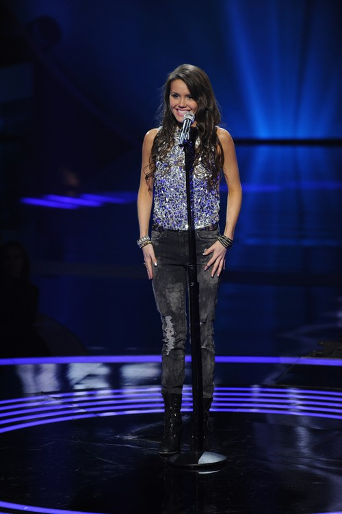 "Kristen O'Connor American Idol ""Beautiful Disaster"" Video 2/26/14 #IdolTop13"