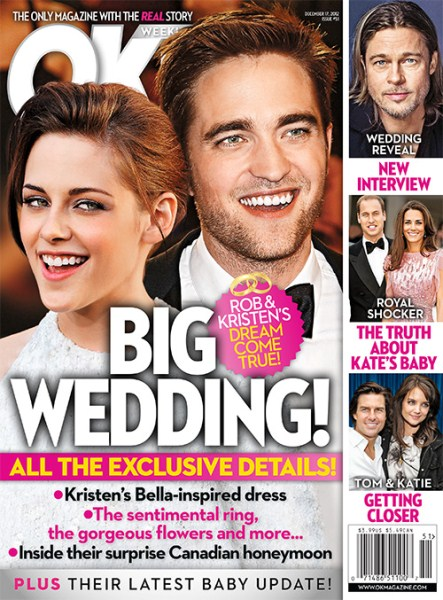 Robert Pattinson and Kristin Stewart Plan Their Wedding - Marriage Is In the Works (Photo)