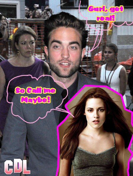 Kristen Stewart and Robert Pattinson Texting Each Other -- And it's an Epic Disaster!
