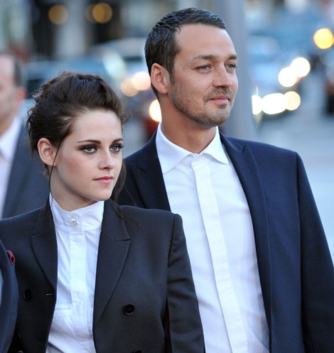 Kristen Stewart Meets Up With Rupert Sanders The Same Day Robert Pattinson Leaves 0423