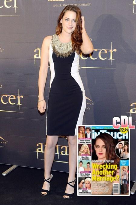 Cheater Kristen Stewart Wrecking Another Marriage? (Photo)