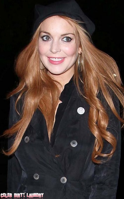 Lindsay Lohan Was Home Watching TV When Alleged Nightclub Fight Happened