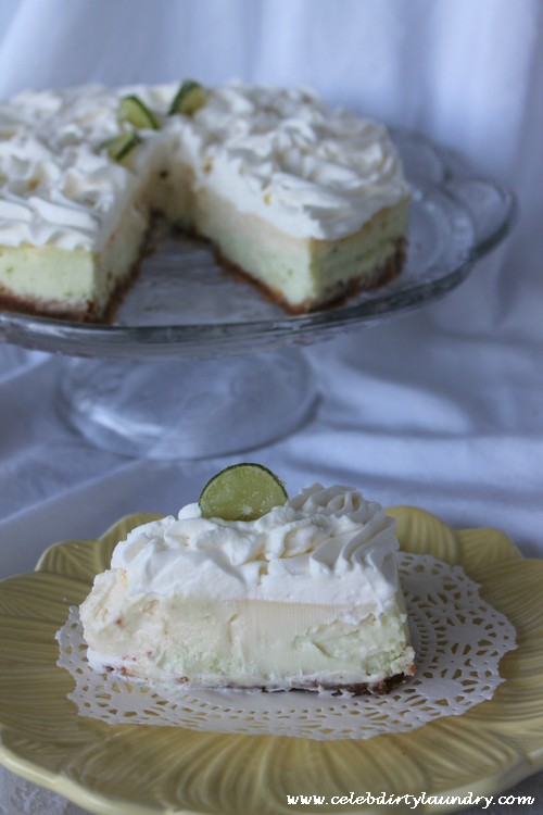 Who Doesn't Love Cheesecake? Lemon Lime Cheesecake #CheesecakeOfTheYear