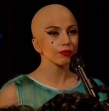 Lady Gaga Goes Bald…Are We Shocked?