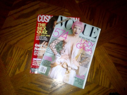 Lady Gaga Covers US Vogue March 2011