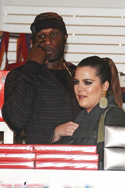 Lamar Odom Frolics With Strippers While Khloe Kardashian Sits And Mopes