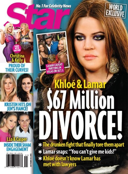 Lamar Odom Caught Cheating: Khloe Kardashian And Lamar Odom's $67 Million Divorce 1017