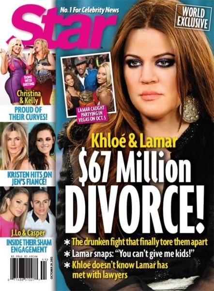 Lamar Odom Caught Cheating: Khloe Kardashian And Lamar Odom's $67 Million Divorce 1017