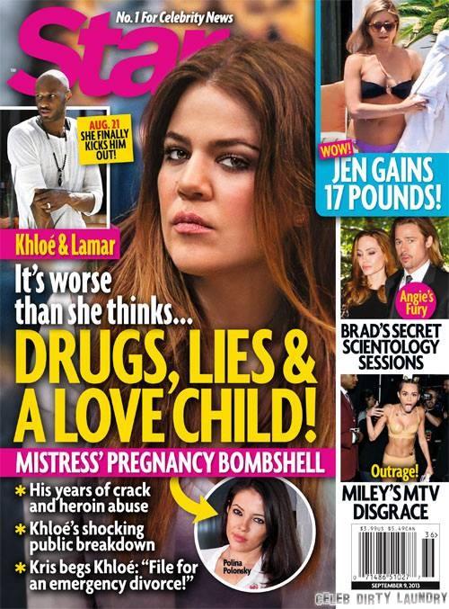 Lamar Odom and Polina Polonsky's Secret Love Child, Khloe Kardashian Furious And Devastated, Considers Emergency Divorce