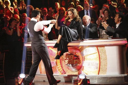 Leah Remini Dancing With the Stars Salsa Video 10/28/13