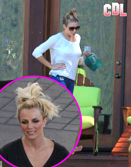 Emotionally Unstable LeAnn Rimes and Britney Spears are Two Peas in a Pod -- Both Crazy!