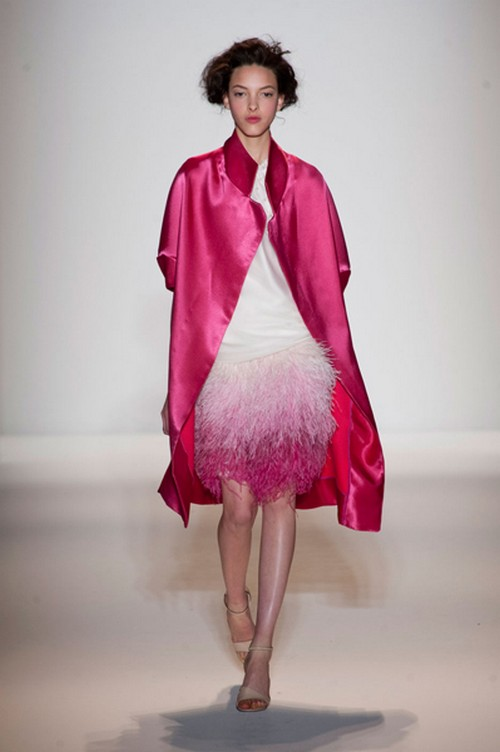 Lela-Rose_fall-2013-Collection-Pink-dress